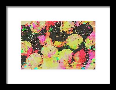 Confectionery Framed Prints