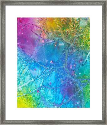 Rainbow Framed Print by Artists With Autism Inc