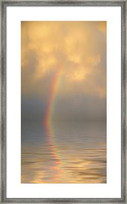 Rainbow Dream Framed Print by Jerry McElroy