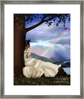 Rainbow Dreamer Framed Print by Robert Foster