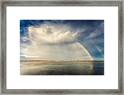Rainbow Framed Print by Evgeni Dinev