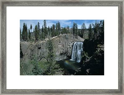 Rainbow Falls California Framed Print