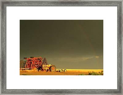 Rainbow Harvest.. Framed Print by Al  Swasey