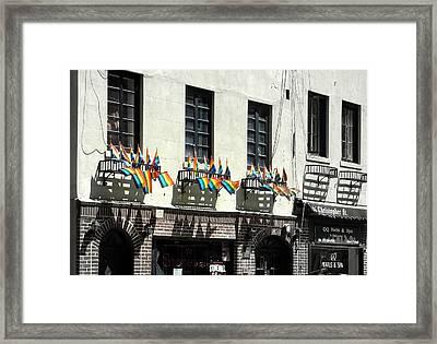 Rainbow History Framed Print by Dan Stone