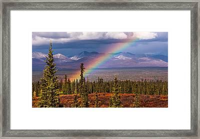 Rainbow Framed Print by Joanie Havenner