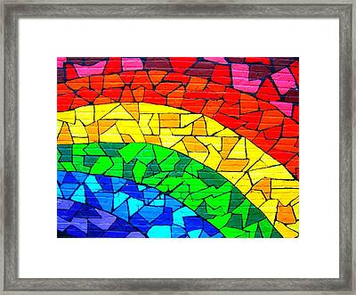 Rainbow ... Framed Print