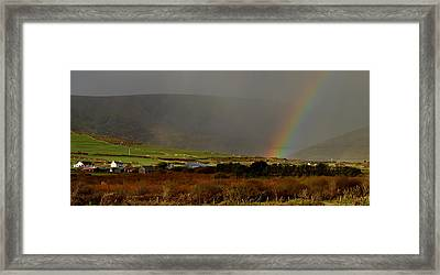 Rainbow Near Dingle Framed Print