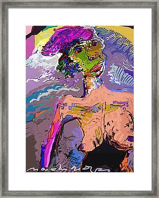 Rainbow Framed Print by Noredin Morgan
