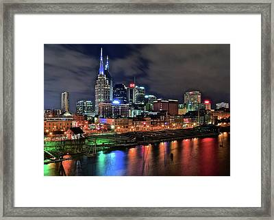 Rainbow On The River Framed Print