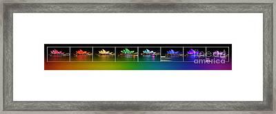 Rainbow Opera - Vivid Sydney By Kaye Menner Framed Print by Kaye Menner