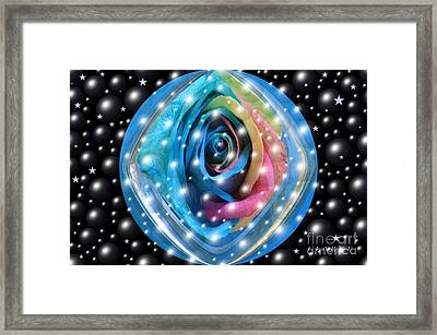 Rose Planet Framed Print