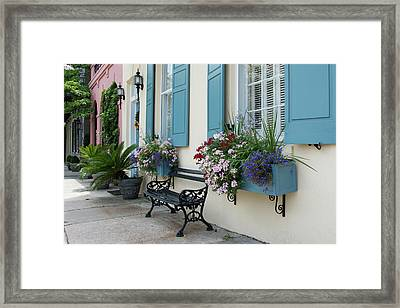 Rainbow Respite Framed Print by Ed Waldrop