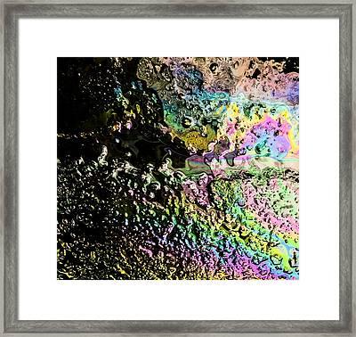Rainbow River Framed Print