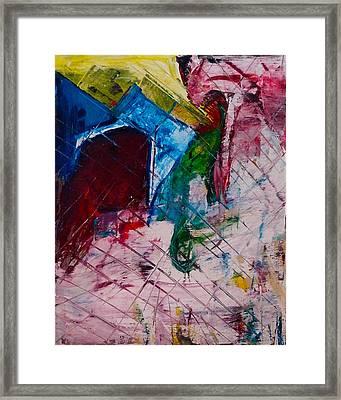 Rainbow River Framed Print by Tiffani Burkett