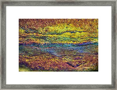 Rainbow Rock  Framed Print by Tim Gainey