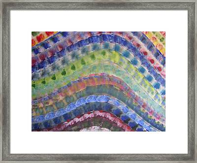 Rainbow Framed Print by Russell Simmons