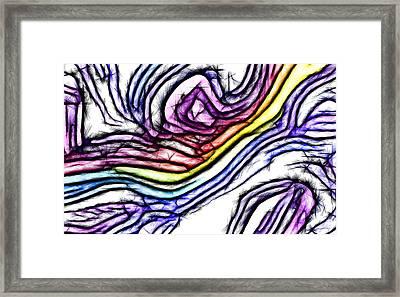 Rainbow Slide 1 Framed Print