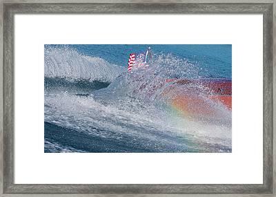 Rainbow Studio Framed Print by Steven Lapkin
