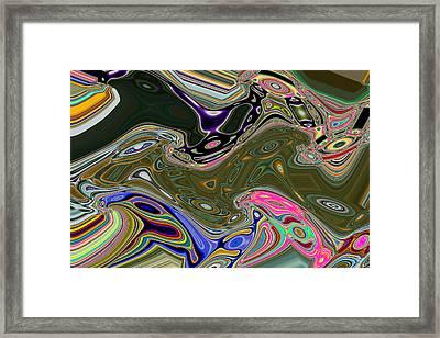 Rainbow Tripin Birds Framed Print by Joshua Sunday
