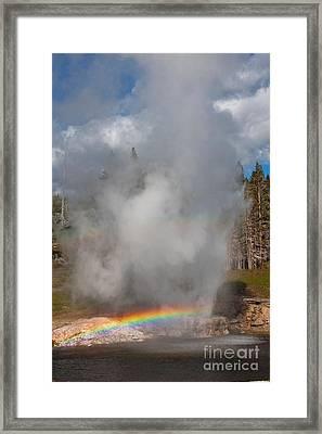 Rainbow Twofer Framed Print
