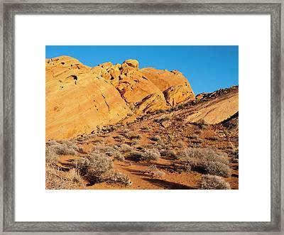 Rainbow Vista Framed Print by Rae Tucker