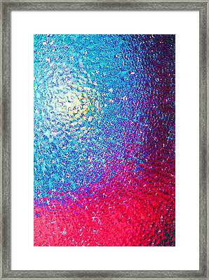 Rainbow Which Was Thought Up By Me Framed Print by Vadim Grabbe