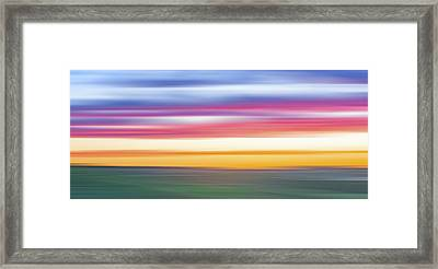 Rainbow Withouut Water X Framed Print by Jon Glaser