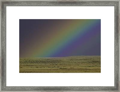 Rainbows End Framed Print