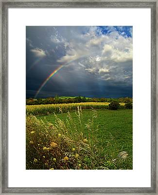 Rainbows Framed Print by Phil Koch