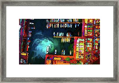 Rainbowts Framed Print