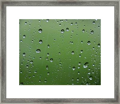 Raindrops  2 Framed Print