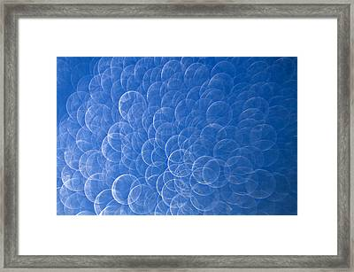 Raindrops On Window Framed Print by Silke Magino