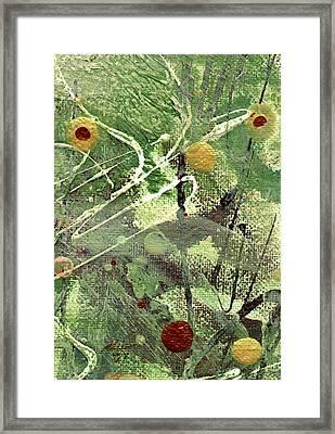 Rainforest Framed Print by Angela L Walker