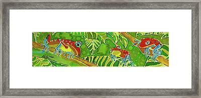 Rainforest Buds Framed Print by Kelly     ZumBerge