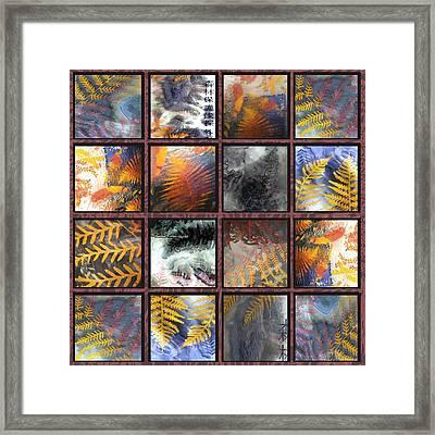 Rainforest Remnants Framed Print by Sarah King