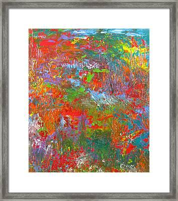 Rainforest Symphony Framed Print by Christopher Chua