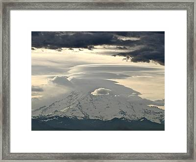 Rainier 8 Framed Print by Sean Griffin
