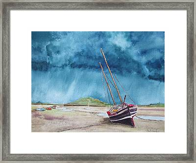 Rainmaker Framed Print by Ally Benbrook