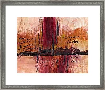 Rains Down Hell Framed Print