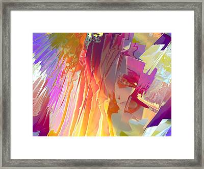 Rainshower Framed Print