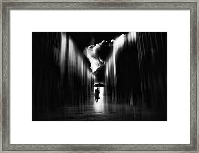 Rainwaker Framed Print