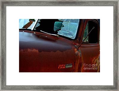 Rainy Day Chevrolet 4 Framed Print
