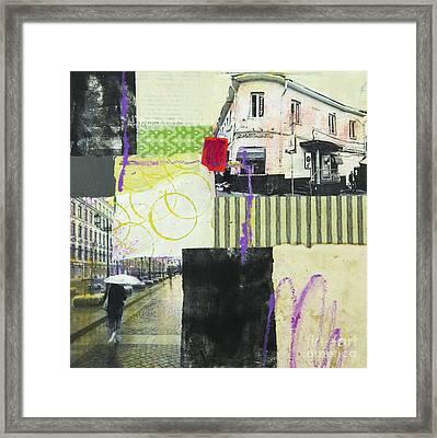 Rainy Day Framed Print by Elena Nosyreva