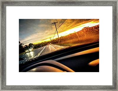 Rainy Day In July II Framed Print