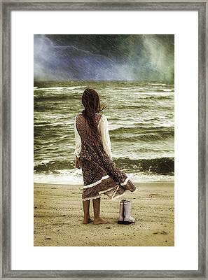 Rainy Day Framed Print by Joana Kruse