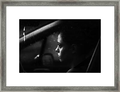 Rainy Day Framed Print by Julien Oncete