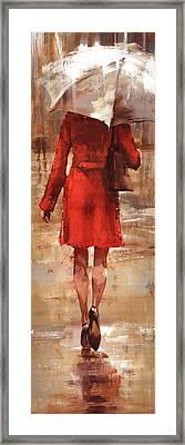 Rainy Day Framed Print by Matthew Myles
