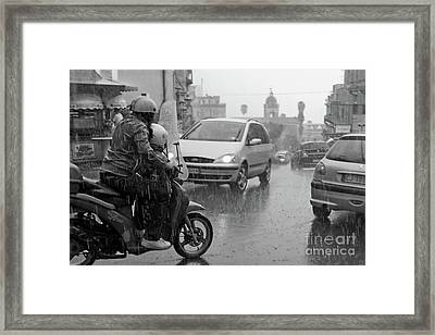 Rainy Day/s Framed Print