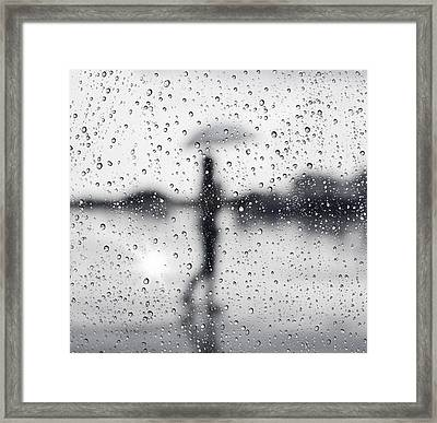Rainy Day Framed Print by Setsiri Silapasuwanchai