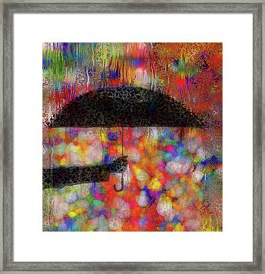 Rainy Day Series Framed Print